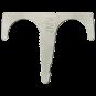 JMV 16/19 mm Dubbele inslagbeugel ijzer